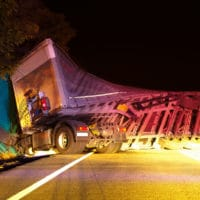 Multiple Tractor-Trailer Crash in Northeast Philadelphia
